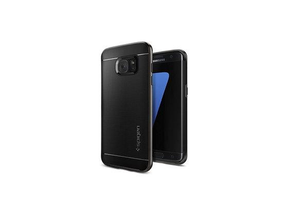 Spigen Samsung Galaxy S7 Edge Neo Hybrid Series, Gunmetal