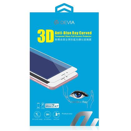 Devia iPhone 8/7 Screen Protector, MAX  Glass Black
