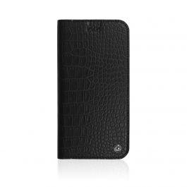 OCCA iPhone X Croco Flip Collection, Black