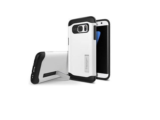 Spigen Samsung Galaxy S7 Edge Slim Armor Series, Shimmery White