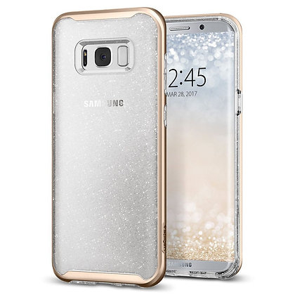 Spigen Samsung Galaxy S8 Neo Hybrid Crystal Glitter, Gold Quartz
