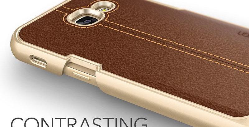 VRS Design Samsung Galaxy A3  Simpli Mod PC PlusPU Leather, Brown