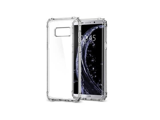 Spigen Samsung Galaxy S8 Plus Crystal Shell, Clear Crystal