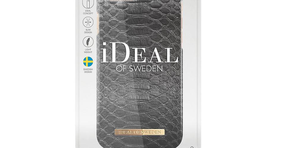 iDeal Of Sweden 8/7/6/6s Plus Fashion Case, Black Reptile