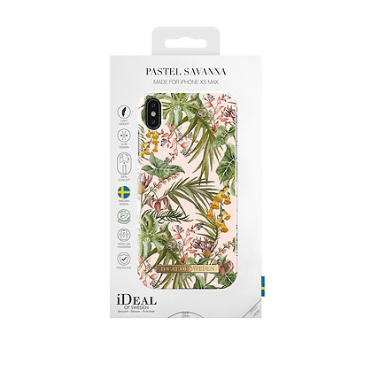 iDeal Of Sweden Fashion Case iPhone Xs Max, Pastel Savanna