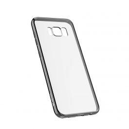 Devia Samsung Galaxy S8 Glitter Soft Case, Gun Black