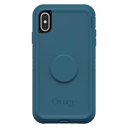 OtterBox Defender Otter + Pop iPhone Xs Max, Winter Shade (Water/Corsair)