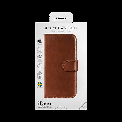 iDeal Of Sweden Magnet Wallet Plus iPhone 11 Pro, Brown