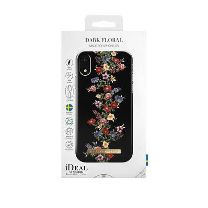 iDeal Of Sweden Dark Floral iPhone XR Max Case