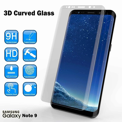 Devia Samsung Galaxy Note 9 Screen Protector, Explosion Proof Clear