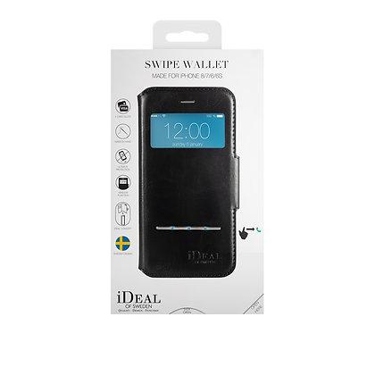 iDeal Of Sweden Swipe Wallet iPhone 8/7/6/6s, Black
