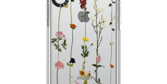 Casetify iPhone XR Impact Case, Frost Floral