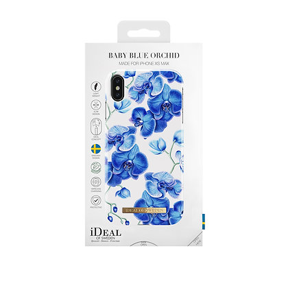 iDeal Of Sweden Fashion Case iPhone Xs Max, Baby Blue Orchid