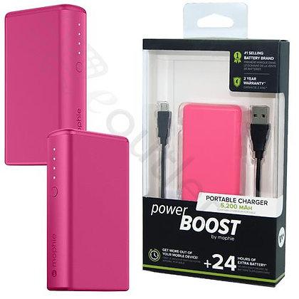Mophie Power Boost XL External Battery, Pink