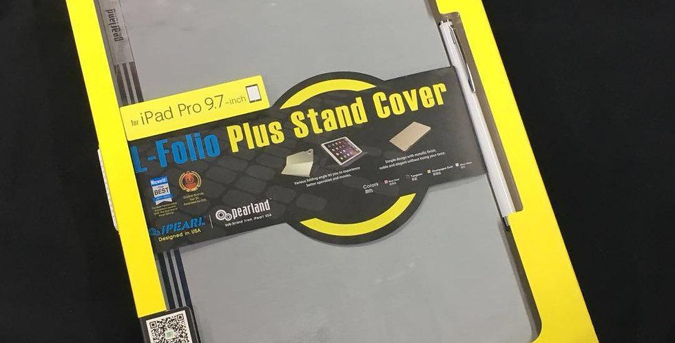 iPearl iPad Pro 9.7-inch L-Folio Plus Stand Cover, Silver