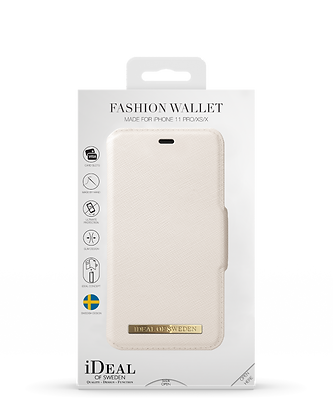 iDeal Of Sweden Fashion Wallet iPhone 11 Pro/XS/X, Beige