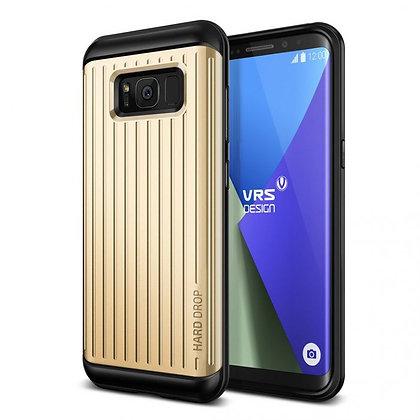 VRS Design Samsung Galaxy S8 Plus Hard Drop, Waved Shine Gold