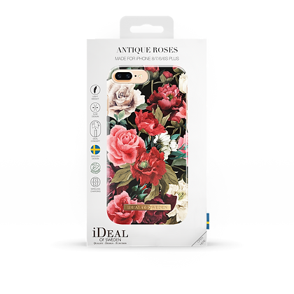 iDeal Of Sweden Fashion Case iPhone 8/7/6/6s Plus, Antique Roses