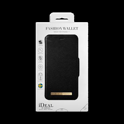 iDeal Of Sweden Fashion Wallet iPhone 11, Black