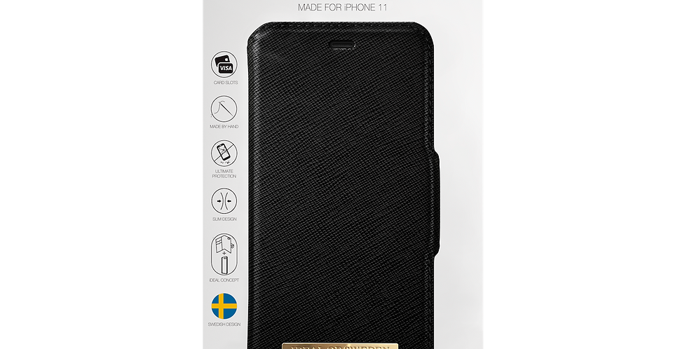 iDeal Of Sweden Fashion Wallet iPhone 11, Black