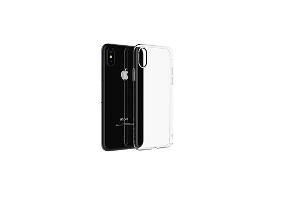 Comma iPhone Xs Max Hard Jacket Case, Clear