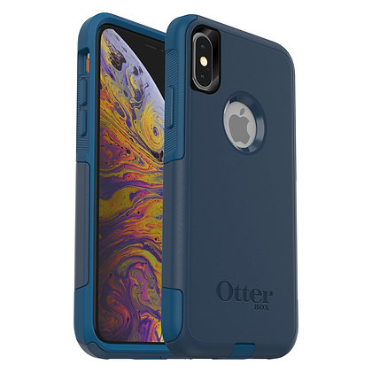 OtterBox Commuter Series iPhone Xs, Bespoke Way (Blue/Blue)