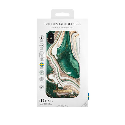 iDeal Of Sweden Fashion Case  iPhone Xs Max, Golden Jade Marble