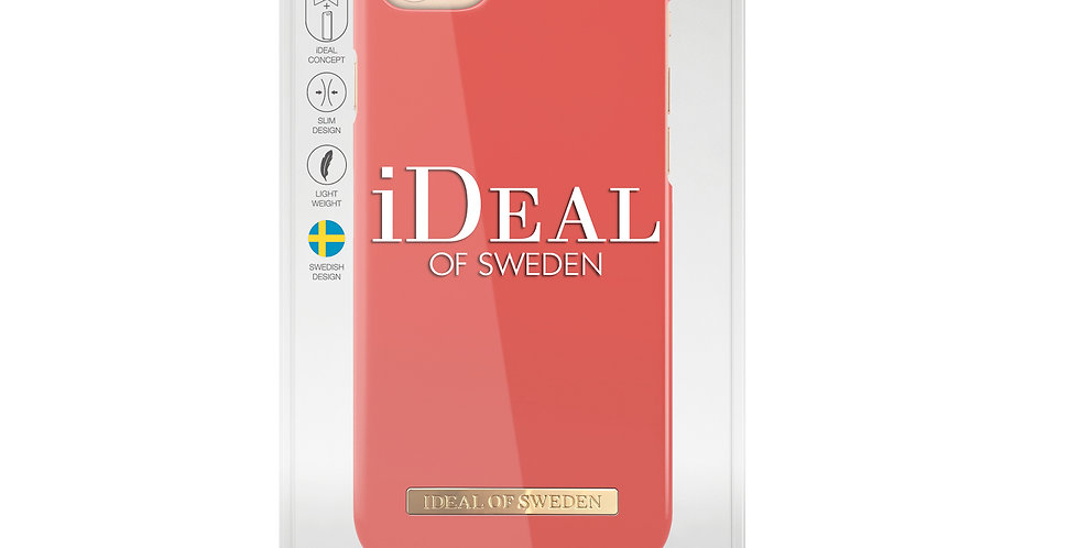 iDeal Of Sweden iPhone 8/7/6/6s Fashion Case, Aurora Red