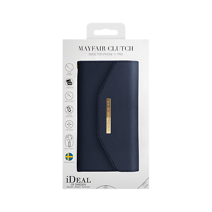 iDeal Of Sweden Mayfair Clutch iPhone 11 Pro, Navy