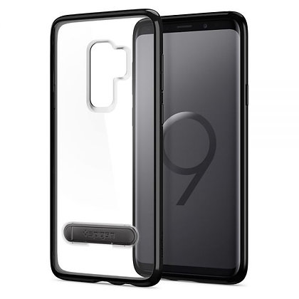 Spigen Samsung Galaxy S9 Plus Ultra Hybrid S, Midnight Black