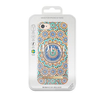 iDeal Of Sweden Fashion Case iPhone 8/7/6/6S, Moroccan Zellige