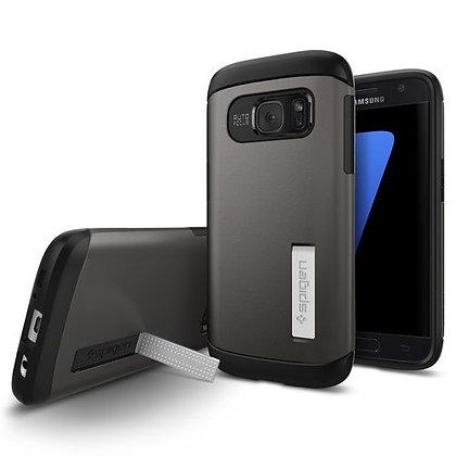 Spigen Samsung Galaxy S7 Slim Armor Series, Gunmetal