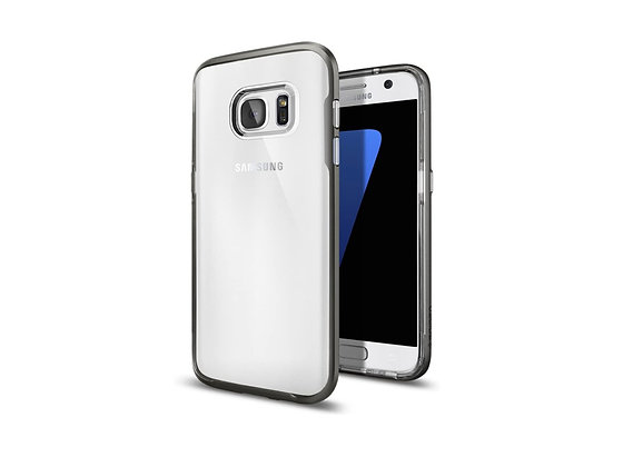 Spigen Samsung Galaxy S7 Neo Hybrid Crystal Series, Gunmetal