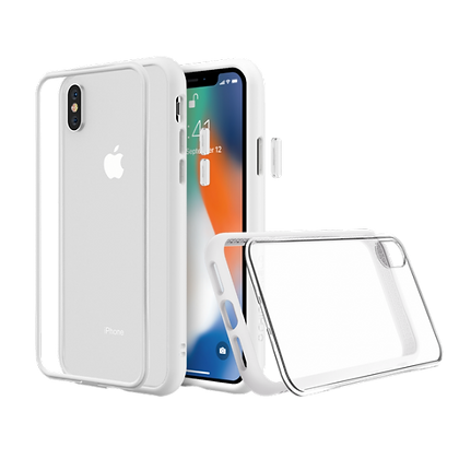 RhinoShield iPhone Xs Mod NX Set, White