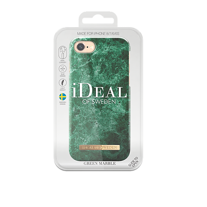 iDeal Of Sweden Green Marble iPhone 8/7/6/6s Case