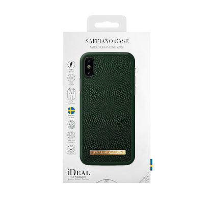 iDeal Of Sweden Fashion Case Saffiano iPhone X/Xs, Green