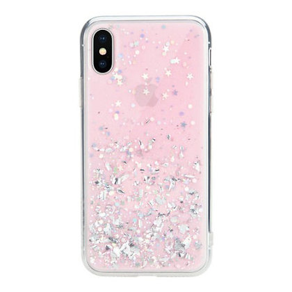 SwitchEasy iPhone Xs Max Starfield PC+TPU Case, Pink
