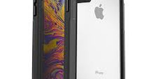 OtterBox Pursuit Series iPhone X, Black/Clear