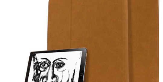 "Comma iPad Pro 12.9"" (2015 & 2017) Elegant Series Case, Brown"
