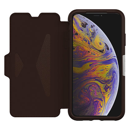 OtterBox Strada Series iPhone Xs Max, Espresso (Brown/Brown)