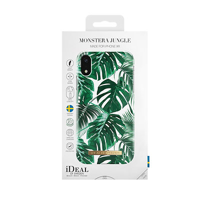 iDeal Of Sweden Monstera Jungle iPhone XR Max Case