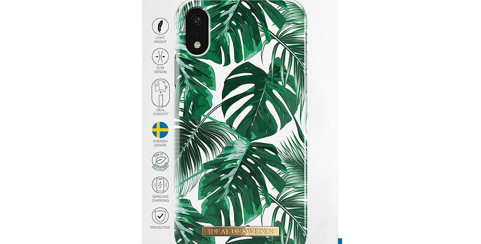 iDeal Of Sweden iPhone XR Monstera Jungle, Max Case