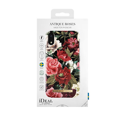 iDeal Of Sweden Fashion Case iPhone XR, Antique Roses