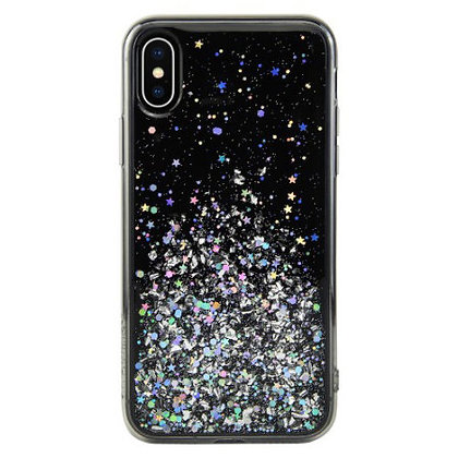 SwitchEasy iPhone Xs Max Starfield PC+TPU Case, Ultra Black
