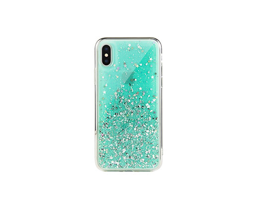 SwitchEasy iPhone Xs Starfield PC+TPU Case, Mint