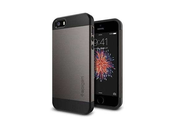 Spigen iPhone SE Slim Armor Series, Gunmetal