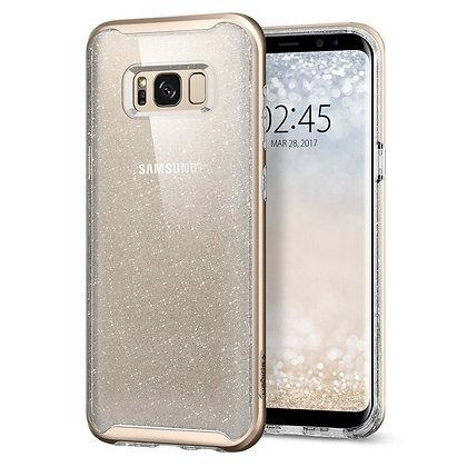 Spigen Samsung Galaxy S8 Plus Neo Hybrid Crystal Glitter, Gold Quartz