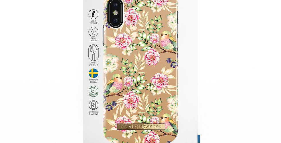 iDeal Of Sweden iPhone X/Xs Fashion Case, Champagne Birds