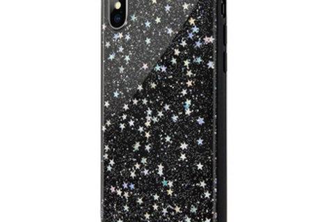 SwitchEasy iPhone Xs Max Starfield PC+TPU Case, Black Star