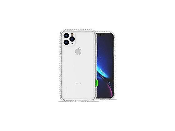 JTLegend iPhone 11 Pro Max Wavyee Case, Crystal